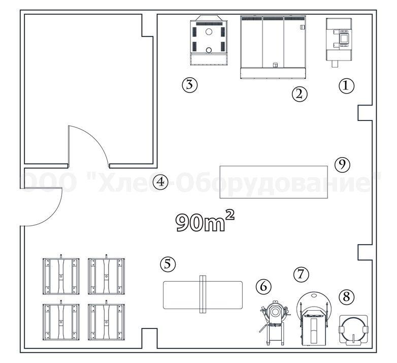Стол кондитерский ITERMA 430 сц 213 1508 Интернет